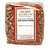 Bergin Nut Company Pecan Pieces Raw, 12-Ounce Bags (Pack of 2)