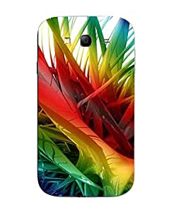 Snazzy Abstract Printed Colorful Hard Back Cover For Samsung Galaxy J1