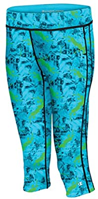 Champion Womens Absolute Floral Print Knee Capris by Champion