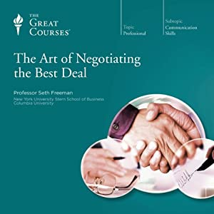 The Art of Negotiating the Best Deal Lecture