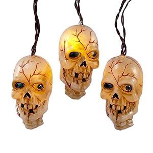 Musical Skull Light Set, 10 Lights