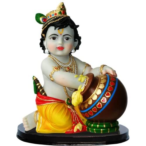 Amazon.com - Beautiful Krishna With Flute Butter Thief Statue -