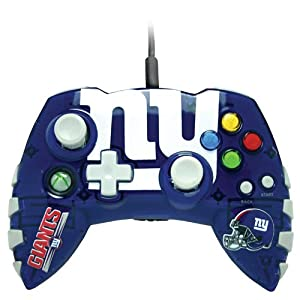 Xbox 360 NFL New York Giants Controller by Mad Catz