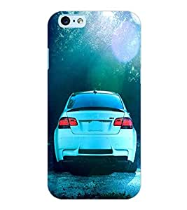 ColourCraft Car Back Case Cover for APPLE IPHONE 6S