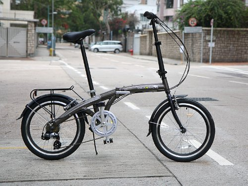 20 Shimano Metallic Alloy Folding Bike Frame Men Women