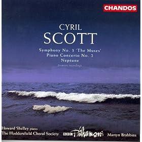 """Scott, C.: Symphony No. 3, """"The Muses"""" / Piano Concerto No. 2 / Neptune"""