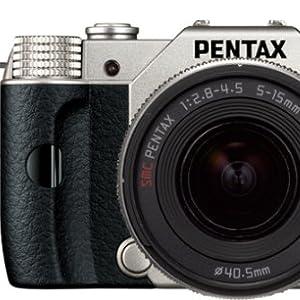 PENTAX ミラーレス一眼 Q10 ズームレンズキット [標準ズーム 02 STANDARD ZOOM] シルバー Q10 LENSKIT SILVER 12163