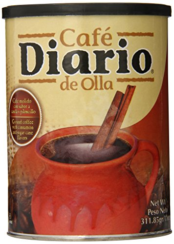 Cafe Diario Ground Coffee, De Olla, 11 Ounce (Mexican Coffee compare prices)