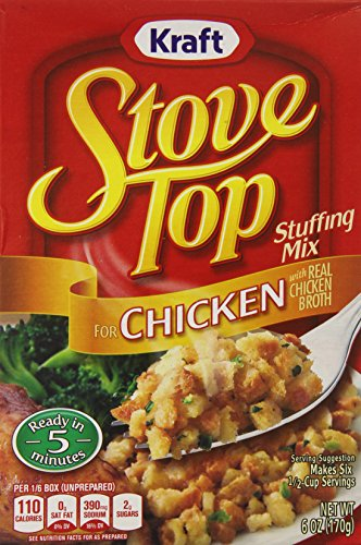 Stove Top Chicken, 6 Ounce Boxes (Pack of 12) (Chicken Stuffing compare prices)