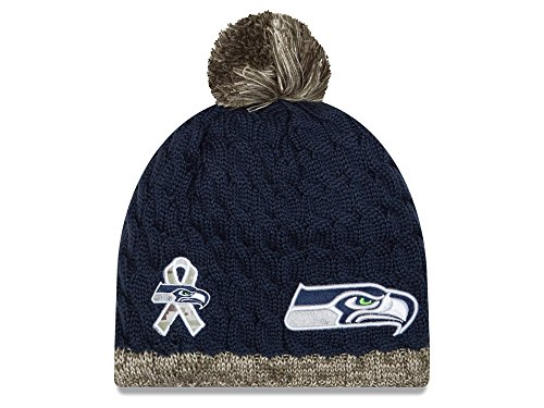 NFL 2015 Women's Salute to Service Knit Hat (OSFM, Seattle Seahawks) (Seahawks Salute To Service Hat compare prices)