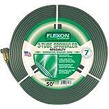Flexon 50-Foot Three Tube Sprinkler Hose FS50 ~ Flexon