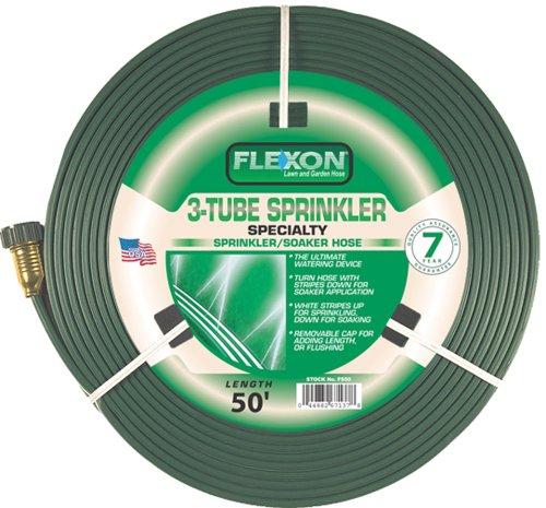 Flexon 50-Foot Three Tube Sprinkler Hose FS50 (Sprinkling Hose compare prices)