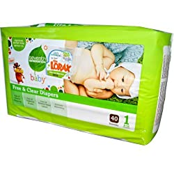 Seventh Generation Free & Clear Diapers Jumbo Pack - Size 1 40ct.
