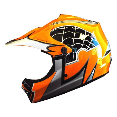 WOW Motocross Youth ATV Dirt Bike Orange Spider