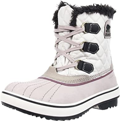 Sorel Women's Tivoli Nylon Boot,Stardust/Fawn,9 M US