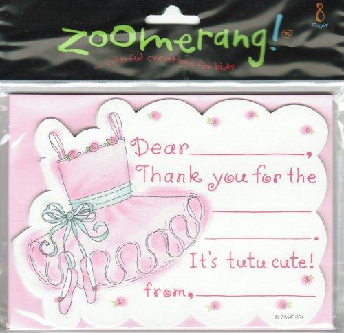 Mara-Mi Zoomerang Die Cut Ballerina Dance - Birthday