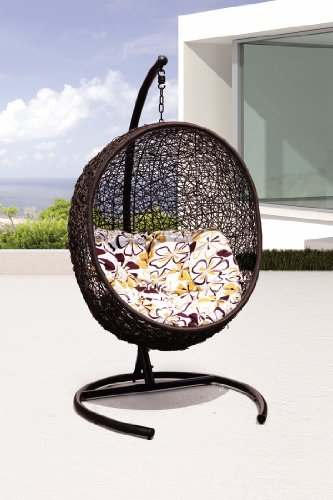 Tigan - all Season Outdoor Swing Chair - Y9068BK picture