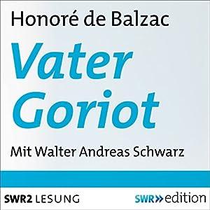 Vater Goriot Hörbuch