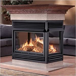 See Thru Vent Free Gas Fireplace Fuel Type Natural Gas See Through Fireplace