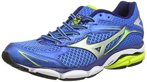 Mizuno Wave Ultima 7, Scarpe sportive, Uomo, Blu (electric blue/lemonade), 43