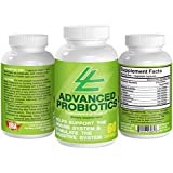 Advanced Probiotics Supplement ~ Contains 20 Billion Living Microorganisms When Manufactured ~ for Men & Women ~ Support Your Immune System & Digestive Tract ~ Rhamnosus ~ 60 Capsules ~ Reduces Pathogens Liable for Diarrhea ~ 100% Money Back Guarantee