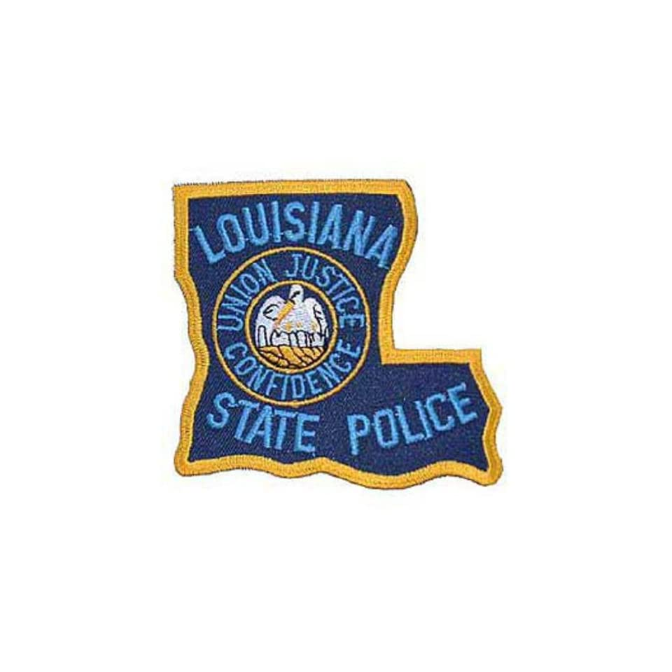 Louisiana State Police Patch 3