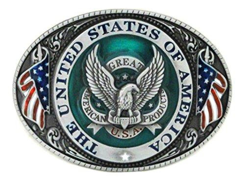 US of AMERICA GREAT SEAL Belt Buckle