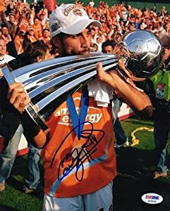 Dwayne De Rosario SIGNED 8x10 Photo D.C. United *VERY RAREAUTOGRAPHED - PSA DNA... by Sports+Memorabilia