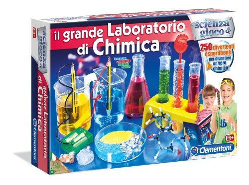 Clementoni 13880 il grande laboratorio di chimica for Giochi per ragazze di 10 anni