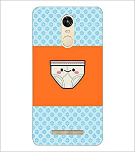 PrintDhaba Funny image D-4890 Back Case Cover for XIAOMI REDMI NOTE 3 PRO (Multi-Coloured)