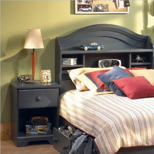 blue twin wood captain s bed 3 piece bedroom set new furniture