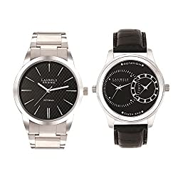 Laurels Polo Men (Lo-Polo-102) & Invictus Men (Lo-inc-103) Watch Combo Pack