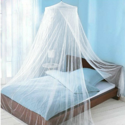 2013Newestseller Mosquito Net For Bed Canopy Dome White/ Pink (White) front-677638