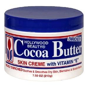 Hollywood Beauty Cream, Cocoa Butter, 7.5 Ounce