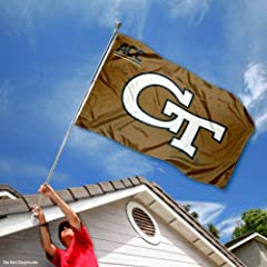 Buy Georgia Tech Yellow Jackets ACC 3x5 Flag by College Flags and Banners Co.