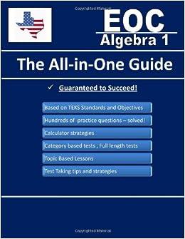 Algebra 1 EOC Practice Test