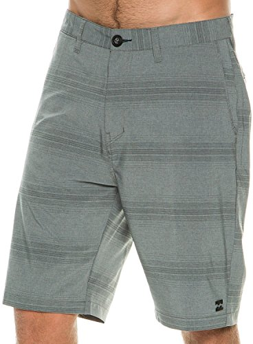 Men's Crossfire X Stripe Shorts, Grey, 34