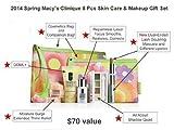 Clinique Macy's 2013 Spring 7 Pcs Skin Care & Makeup Gift Set (A  Value)