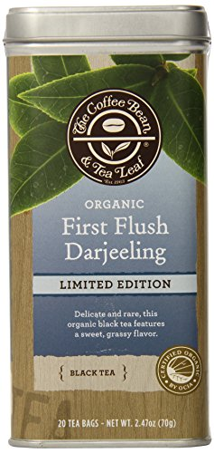 The Coffee Bean & Tea Leaf First Flush Darjeeling Limited Edition Tea, 20 Count