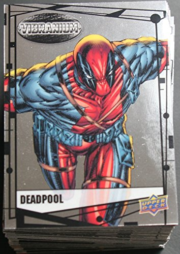 2015 Marvel Vibranium Trading Cards 90-Card Base Set (2015 Marvel Cards compare prices)