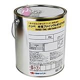 日本ペイント 水性ファインウレタンU100ブラック 4kg