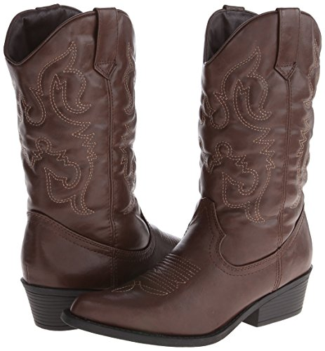 Madden Girl Women S Sangunwm Western Boot Brown 6 5 M Us