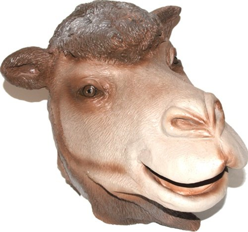 Realistic Camel Mask : Full Face Rubber Latex Costume Mask