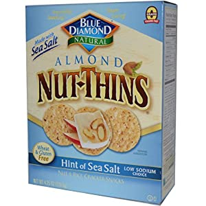 Blue Diamond Hint of Sea Salt Nut Thins 4.25 oz.