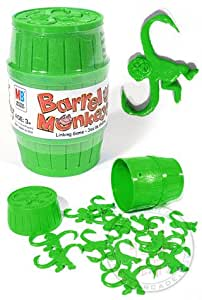 Barrel of Monkeys:  Green