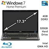 Acer AS7741-7346 BLK i3-370M 2.4GHz laptop