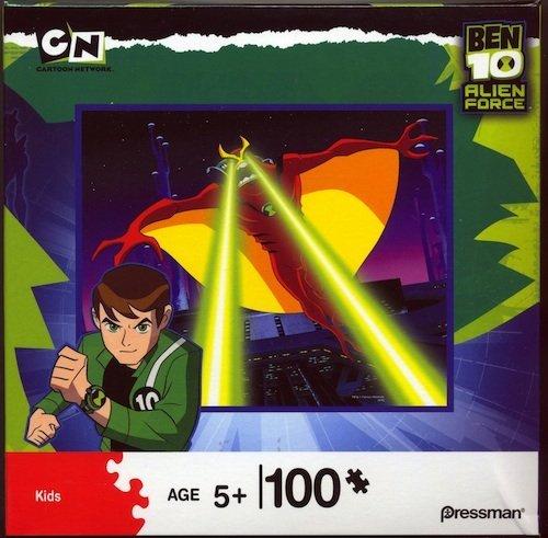 Cheap Pressman Ben 10 Alien Force: Jetray with Eye Beams 100 Piece Puzzle (B003YVPR6Y)
