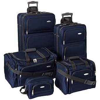 Samsonite Luggage Set Five Piece Nested Set
