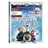 Frozen (Blu-ray + DVD + Digital Copy) + Exclusive DVD Bonus Disc