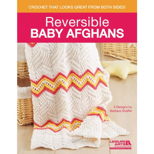 Leisure Arts-Reversible Baby Blankets - 1